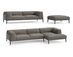 3D model Poliform Metropolitan sofas