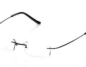 Eyeglasses for Men and Women 3D printable model isolated