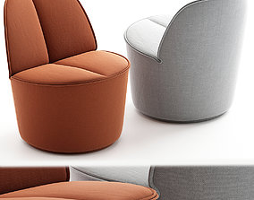NENOU Easy chair Nenou Collection By COR 3d model realtime