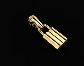 Dainty Lock Pendant 3D print model