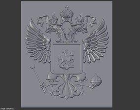 nature 3D print model Emblem
