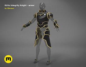 Kirito armor - Integrity Knight 3D printable model