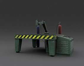 Machine 03 Weathered 3D asset