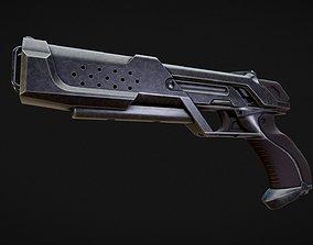 Particle Accelerator Pistol 3D model