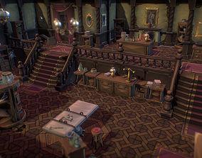 3D asset Haunted Mansion Set