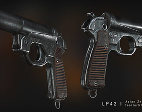 LP 42 Flare Gun 3D asset