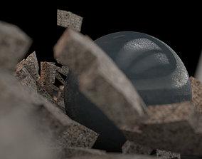 Depth of field - Scene 3D