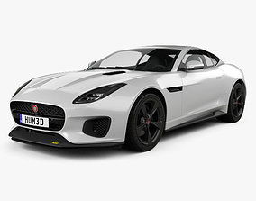 3D Jaguar F-Type 400 Sport Coupe 2017