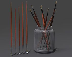 3D model Paint Brushes