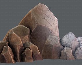 3D model Rocks V01