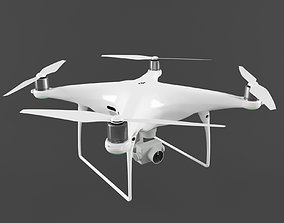 aircraft 3D dji phantom 4 pro
