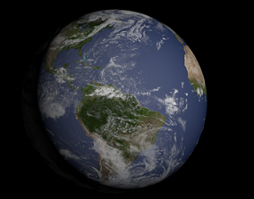 atmosphere Planet Earth texture 3D
