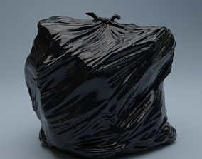 Trashbag - Large 3D asset
