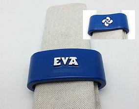 3D printable model EVA napkin ring with lauburu