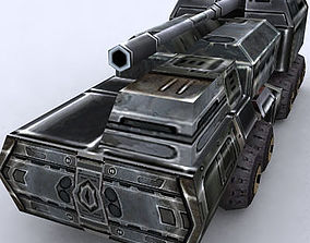 game-ready 3DRT - Sci-Fi Forces - Artillery