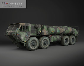 Hemtt M978 Oshkosh Military Fuel Truck 3D asset