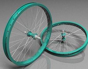3D bmx wheelset