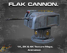 FLAK CANNON 3D model