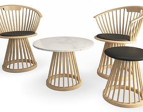 Fan Furniture Collection Tom Dixon 3D