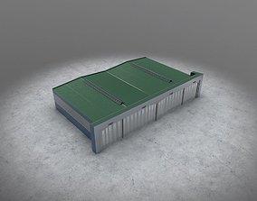 3D model LHBP Hangar 3