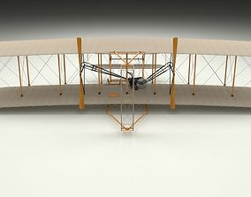 Animated Wright Flyer 3D