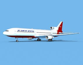 Lockheed L-1011 Air Charter America 3D model