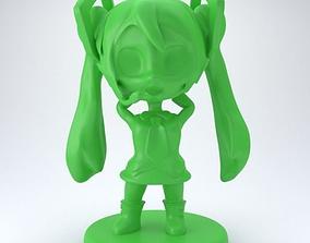 3D printable model Hatsune Miku Chibi