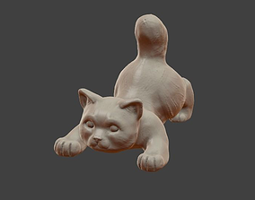 3D print model Little cat