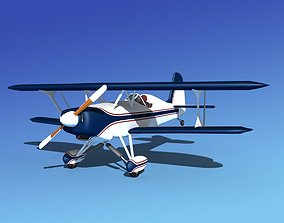 Stolp Starduster SA100 V14 3D rigged