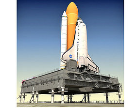 NASA Space Shuttle Spaceship 3D model