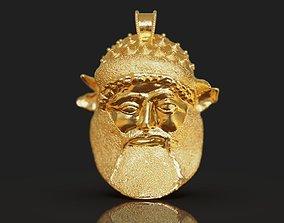 Achelous god pendant - Etruscan 3D printable model