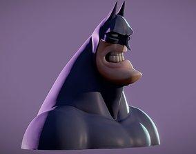 Bust Batman Cartoon action print model