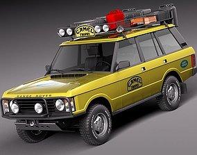 3D model Range Rover Camel Trophy 1981 - 1993