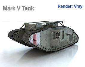 Mark V Tank Male 3D