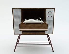 3D model Vintage Record Player