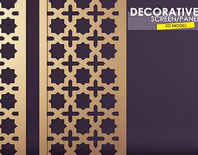 3D model paravan Decorative Wall Screen