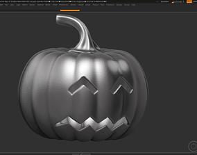 3D print model art halloween pumpkin 10