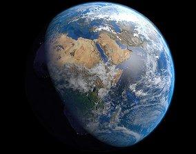 Earth 3D model blender
