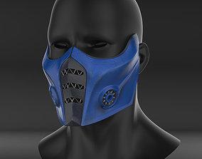 Mortal Kombat 11 Subzero mask 3d print ready STL