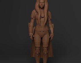 Togruta Jedi Sentinel Pose Printeable