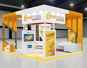 3D EXHIBITION STAND ISLAND