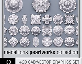 3D model Pearlworks Medallions collection