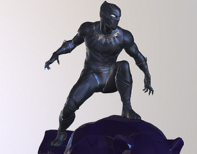 Black Panther Statue 3D Print Ready