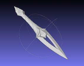 League Of Legends Akali Dagger Basic Printable Model
