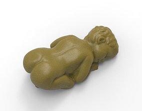Sleeping baby 3D printable model