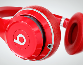 micro Headphones 3D