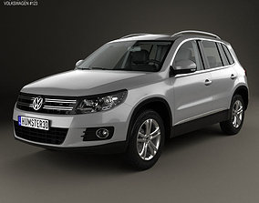 3D model Volkswagen Tiguan Sport and Style with HQ 1