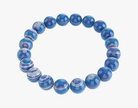 3D model PBR Bead Amethyst bracelet