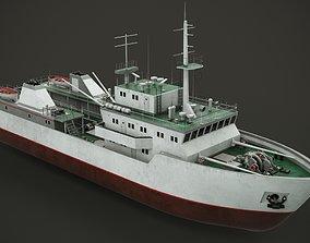 3D model Fishing vessel