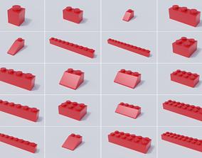 Lego Brick Collection - Standard Bricks 3D model